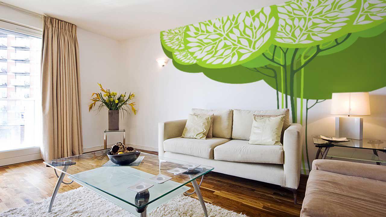 Самоклеющаяся пленка для стены в форме деревья
